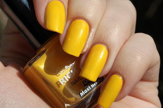 Golden Rose Nail Art Rich Color 48