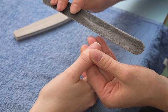 Soak off gellak - french manicure - Vijlen