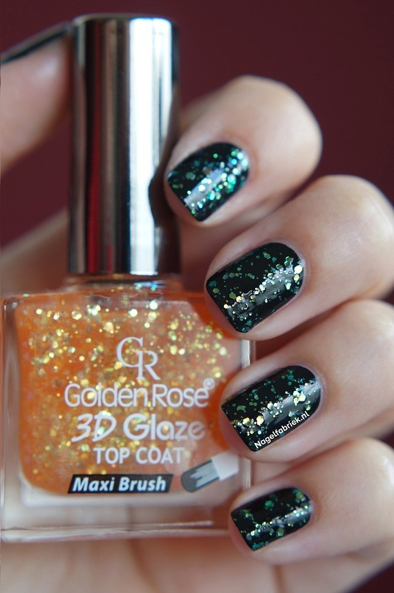 Golden Rose 3D Glaze Topcoat 07 - Nagelfabriek Blog