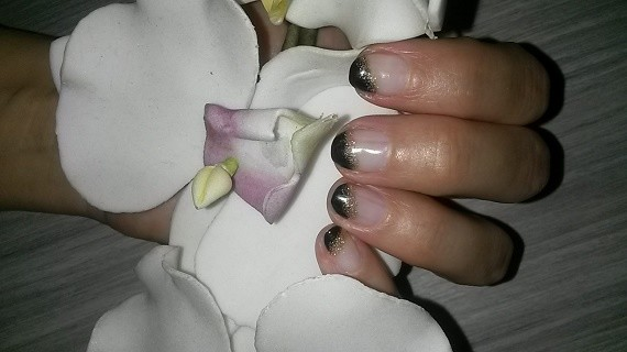 Maureen Koning Black Jack + Glitter Goud - Nagelfabriek Blog