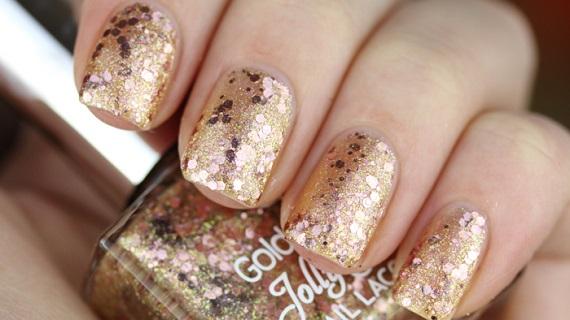 Golden Rose Jolly Jewels 103 Pinkypolish - Nagelfabriek Blog