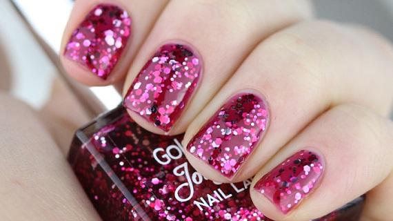 Golden Rose Jolly Jewels 108 Pinkypolish - Nagelfabriek Blog