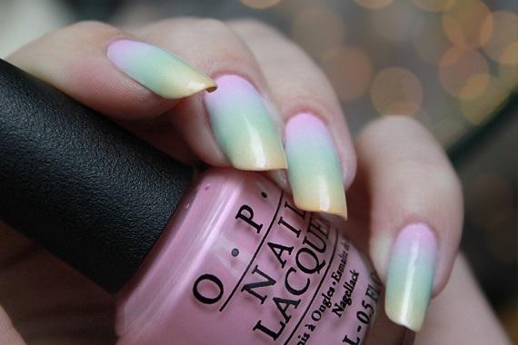 Nail Art Gradient - Nagelfabriek Blog