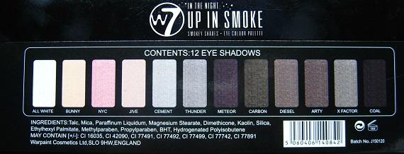 W7 Up In Smoke 8 - Nagelfabriek Blog