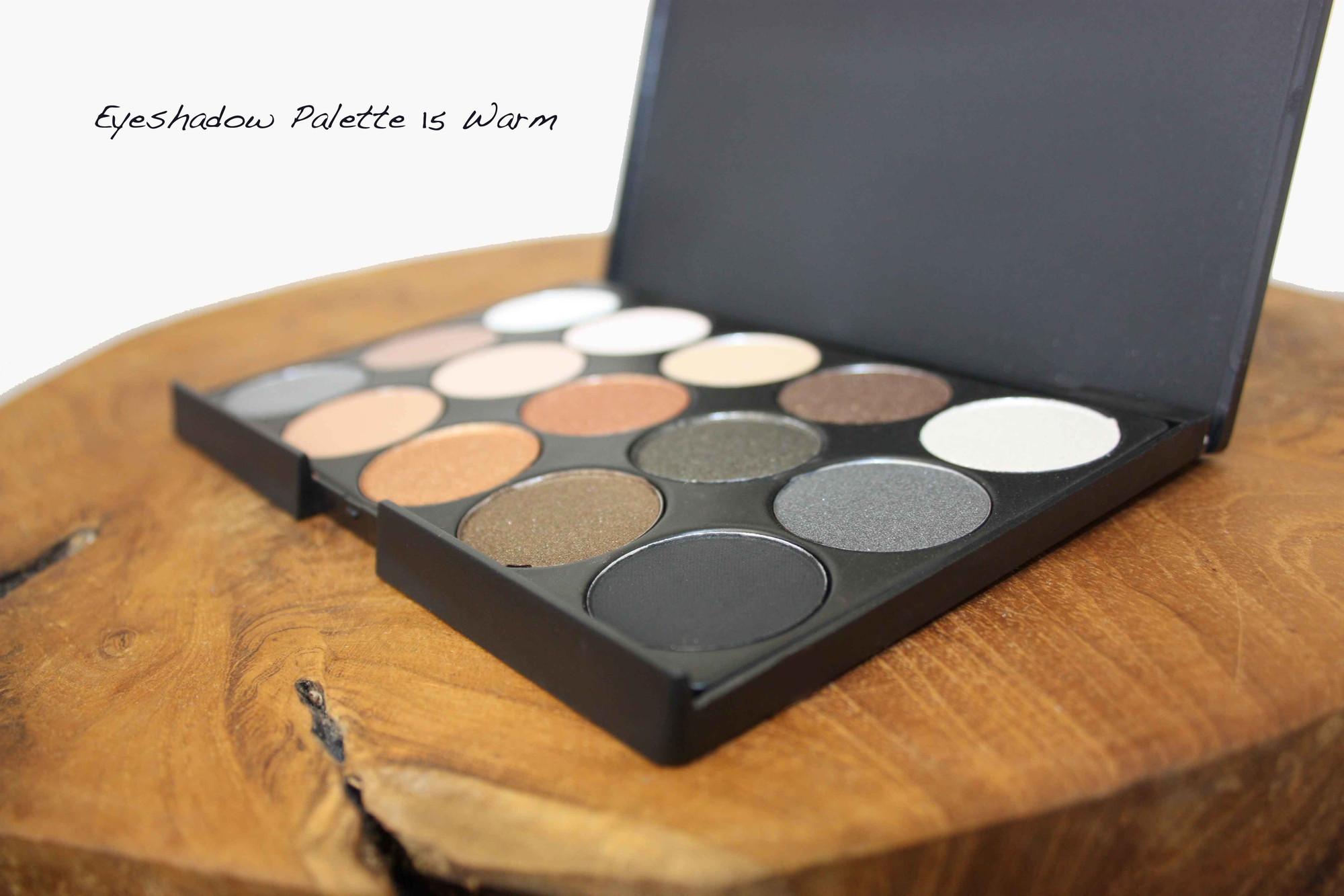 Review Eyeshadow Palette 15 Warm