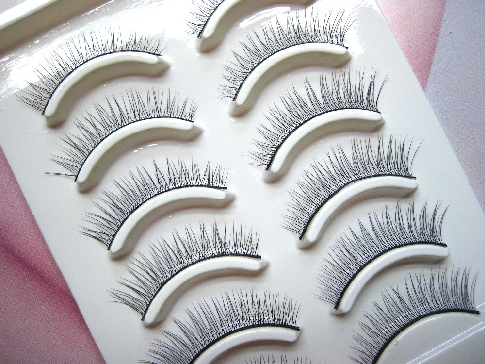 Fake Eyelashes Winged