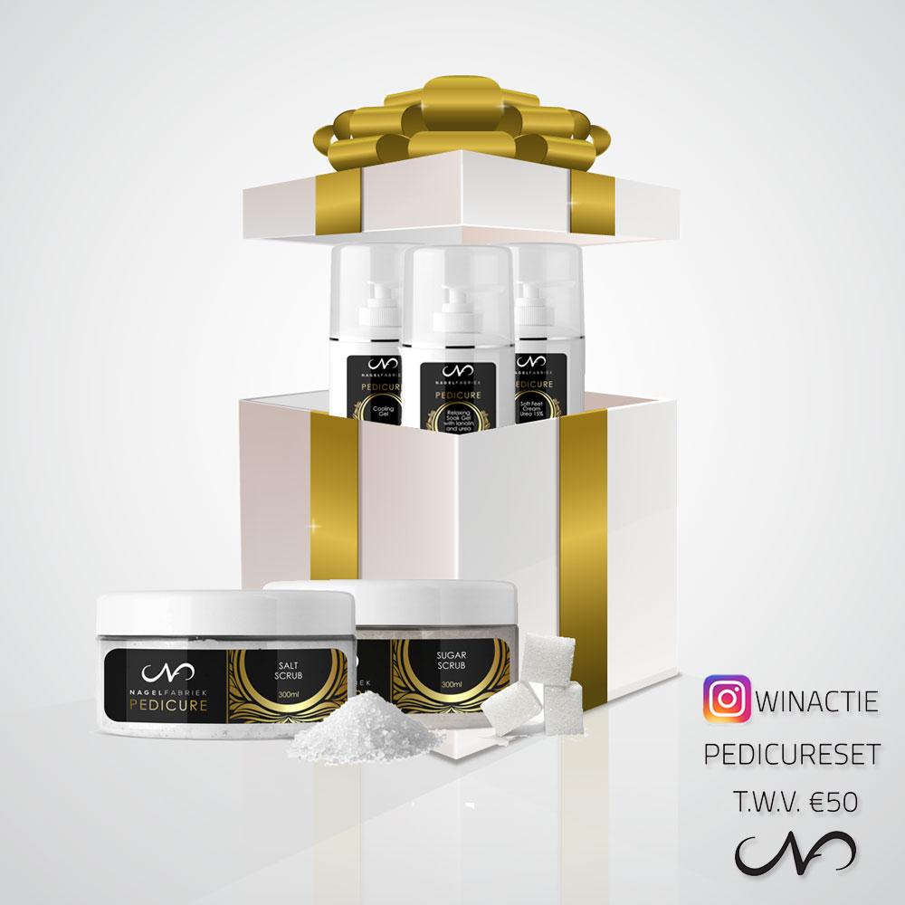 Winactie Pedicure Instagram